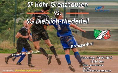 SG Dieblich-Niederfell gegen SF Höhr-Grenzhausen