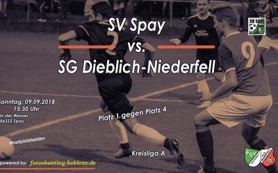 TOPSPIEL SG Dieblich-Niederfell auswärts gegen SV Spay