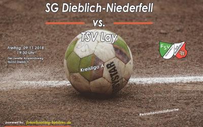 Nächtes Derby für die SG Dieblich-Niederfell