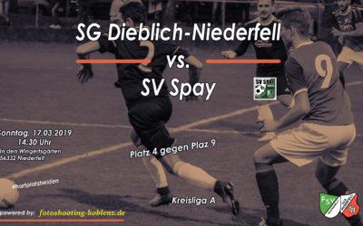 SG Dieblich-Niederfell gegen SV Spay